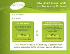 Ideal Protein Chart