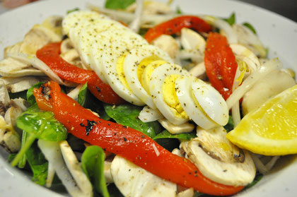 A delicious Spinach Salad - Ideal Protein