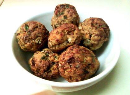 How to make Turkey or Chicken Meatballs