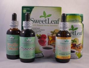 liquid stevia - assorted flavors