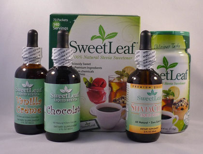 liquid stevia - assorted flavors