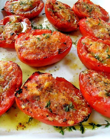 How to make roasted tomatoes appetizers