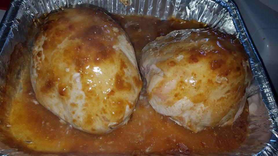 Apricot Glazed Pork Loin