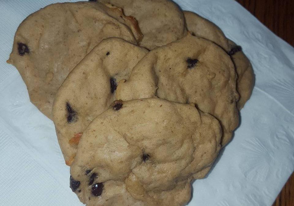 Caramel Chocolate Chip Cookies