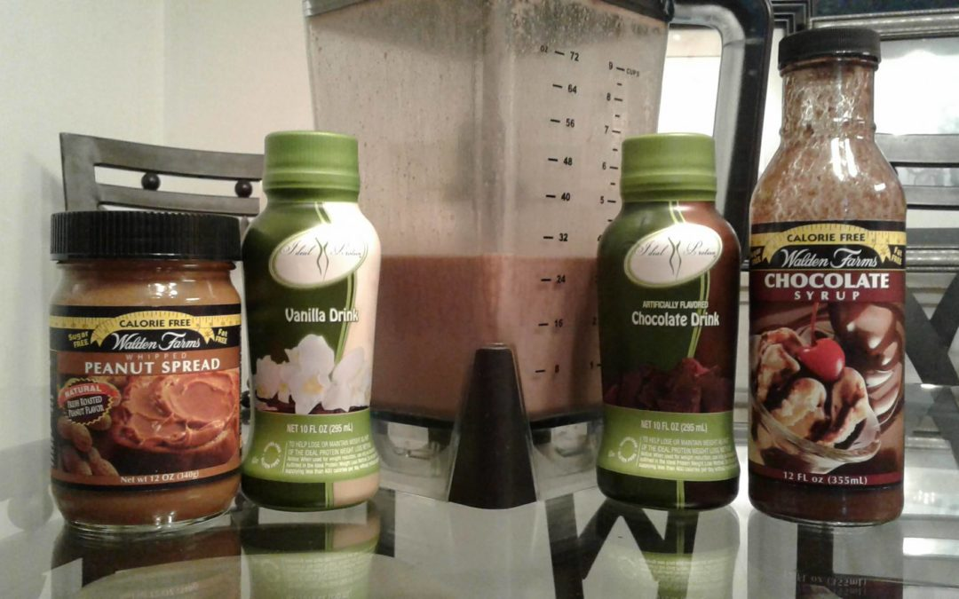 Peanut Butter Milkshakes